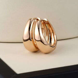 Jewelry - 18K Yellow Gold Filled Huggie Earrings